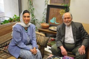 At Professor Seyyed  H Nasr's office George Washington Univresity