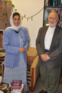 With Professor Seyyed H Nasr