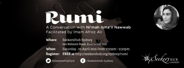 Mawlana Rumi Conversation with Nimah Ismail Nawwab Seekershub  Sydney with Imam Afroz Ali