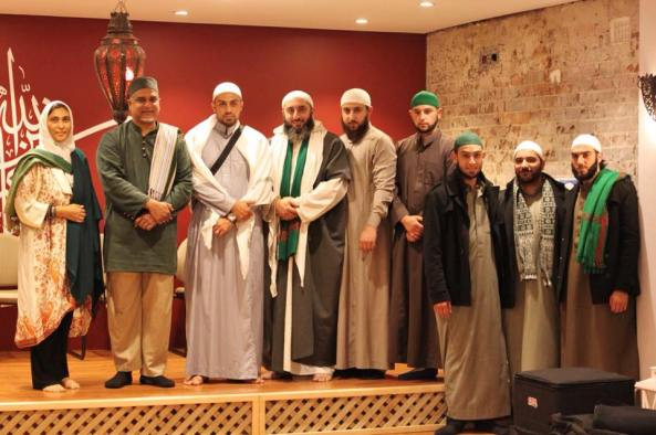 With Ahbab al Mustafa and imam Afroz Ali Sydney April 2015 from fb